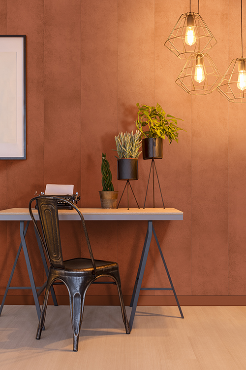 Maestro panel terracotta decor interiors wand wall muur panelen bekleding cladding