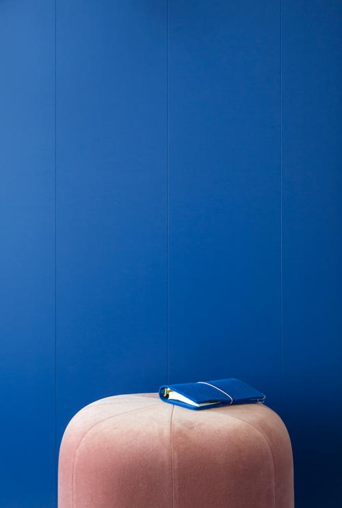 Mur Electric Blue
