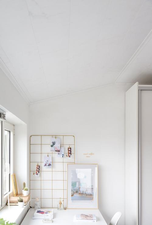 Plafond White Marble